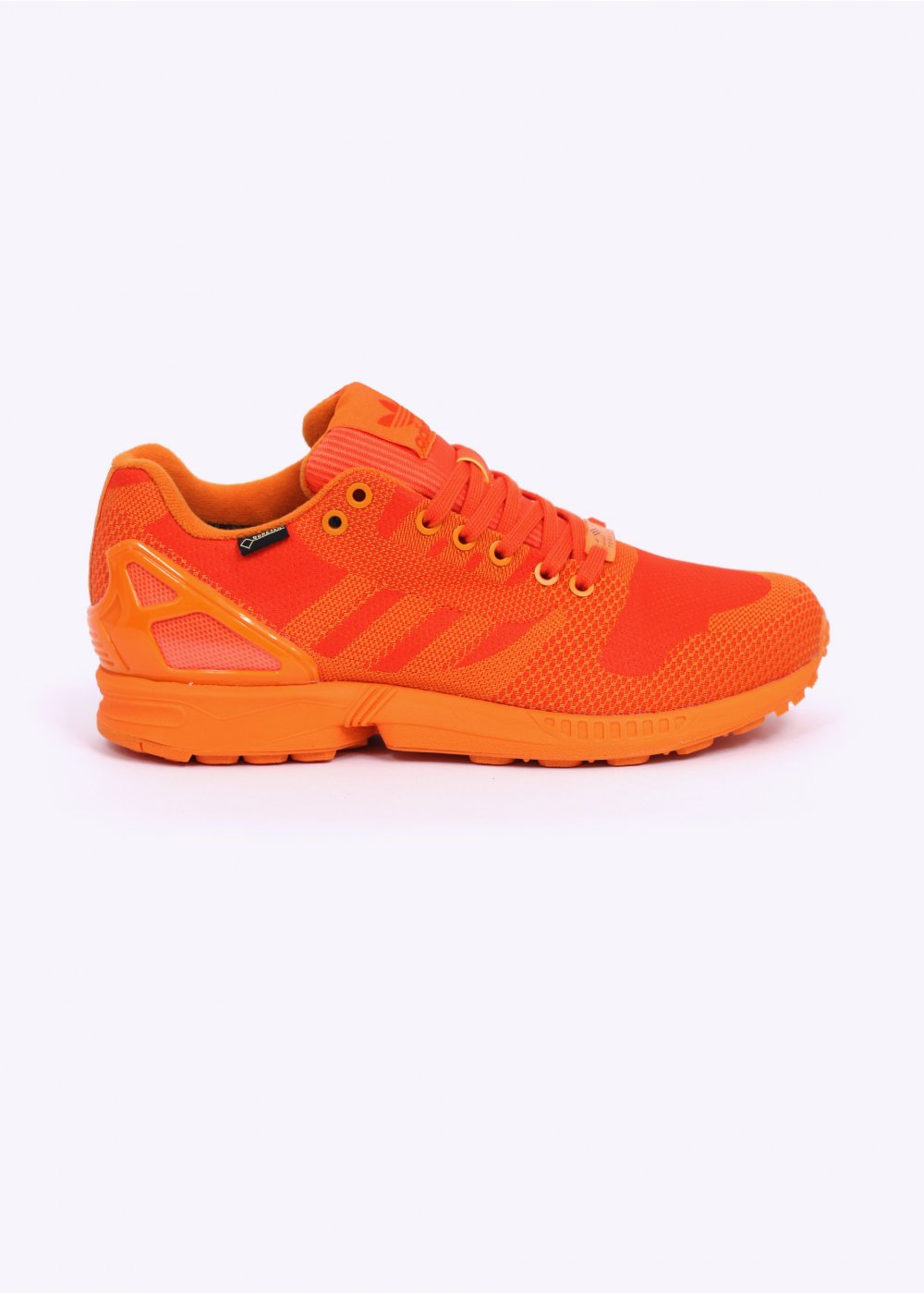 852e35a5664b adidas Originals ZX Flux Weave OG GTX Gore-Tex Trainers - Bright Orange    Orange