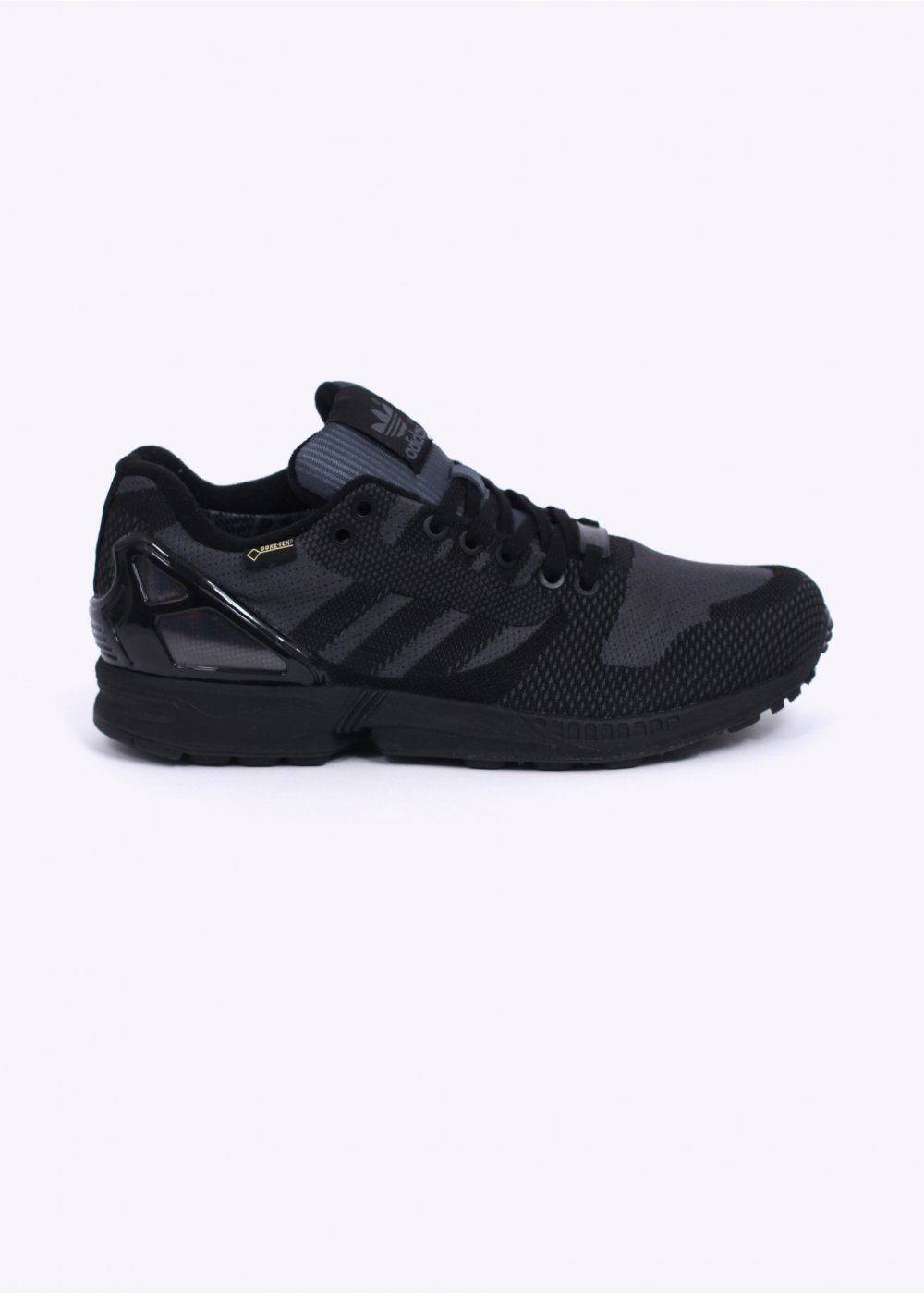 premium selection 62e9b 26036 ZX Flux Weave OG GTX Gore-Tex Trainers - Black   Black