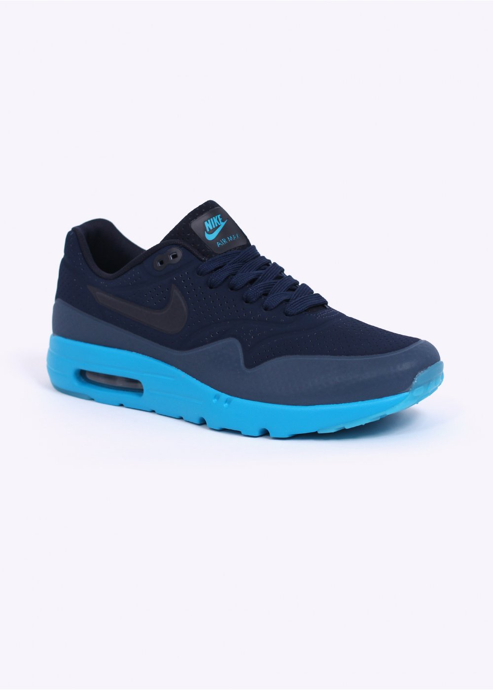 Nike Footwear Air Max 1 Ultra Moire Trainers Midnight Navy Obsidian