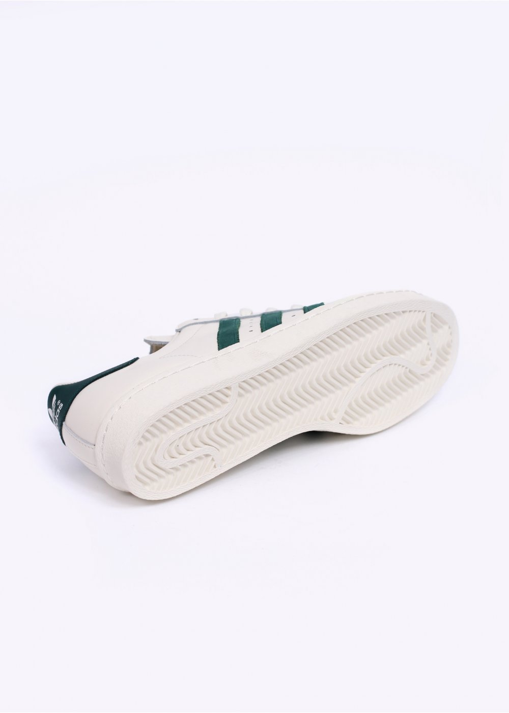 size 40 8e269 d1197 adidas Originals Footwear Superstar 80s Vintage Deluxe Trainers - Vintage  White / Collegiate Green / Off White