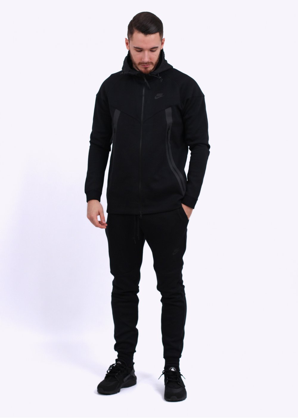 Nike NSW Tech Bonded Windrunner Jacket - Black 4009b52554e0