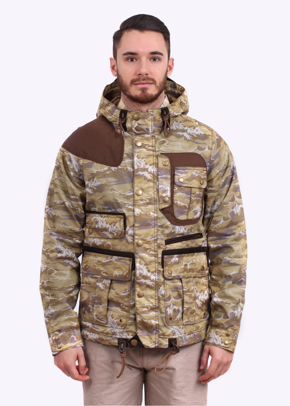 Barbour X White Mountaineering Waxed Mountain Parka