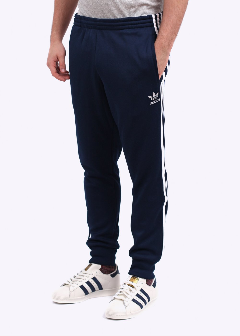 Adidas Originals Sst Cuffed Track Pant Navy Tendencies Chinos Short 32