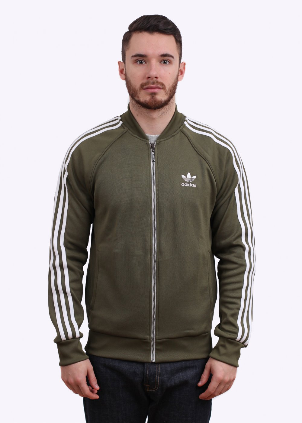 Adidas Originals Sst Track Top Olive