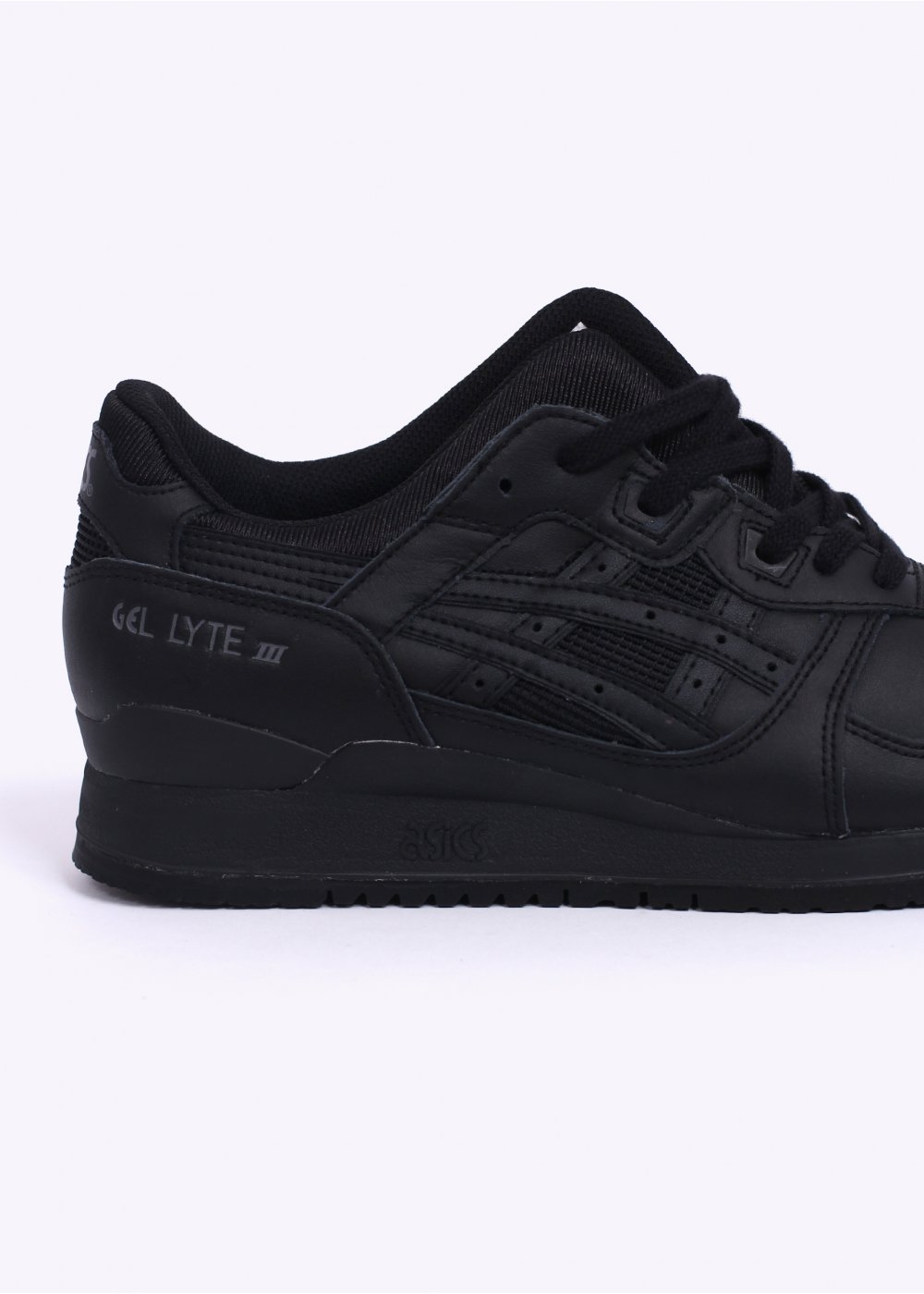 finest selection d26f1 5557a Gel Lyte III Trainers - All Black