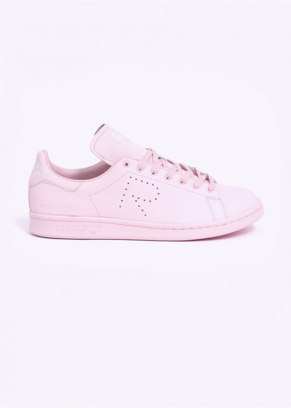 on sale 2b29e 86cf1 adidas Originals by Raf Simons STAN SMITH TRAINERS - PINK / WHITE