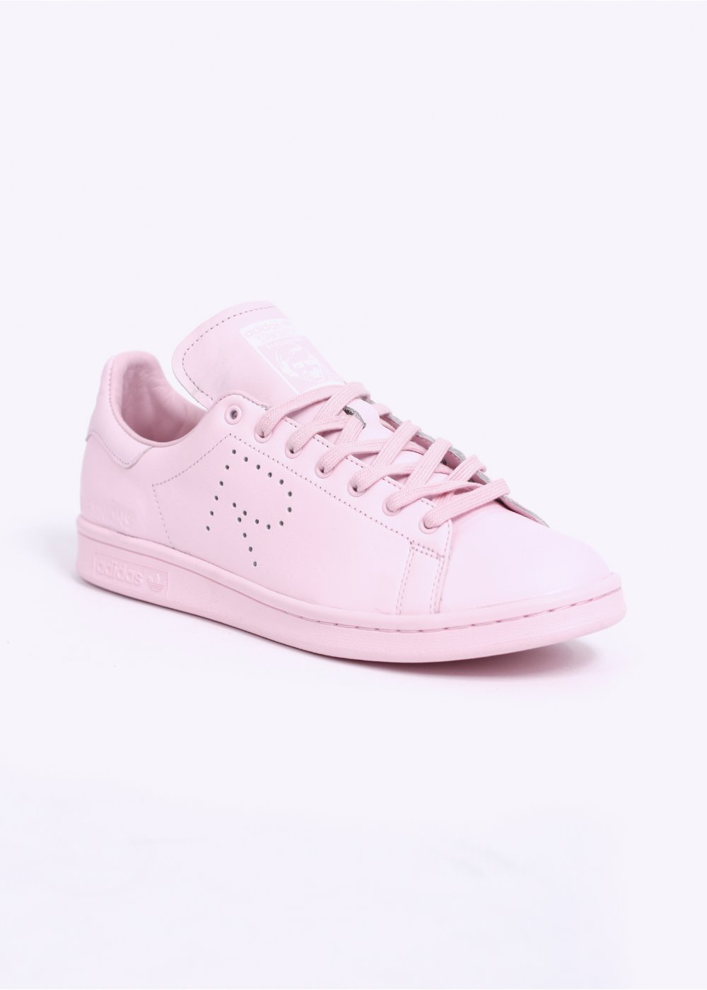 on sale 32d0f f144d adidas Originals by Raf Simons STAN SMITH TRAINERS - PINK / WHITE