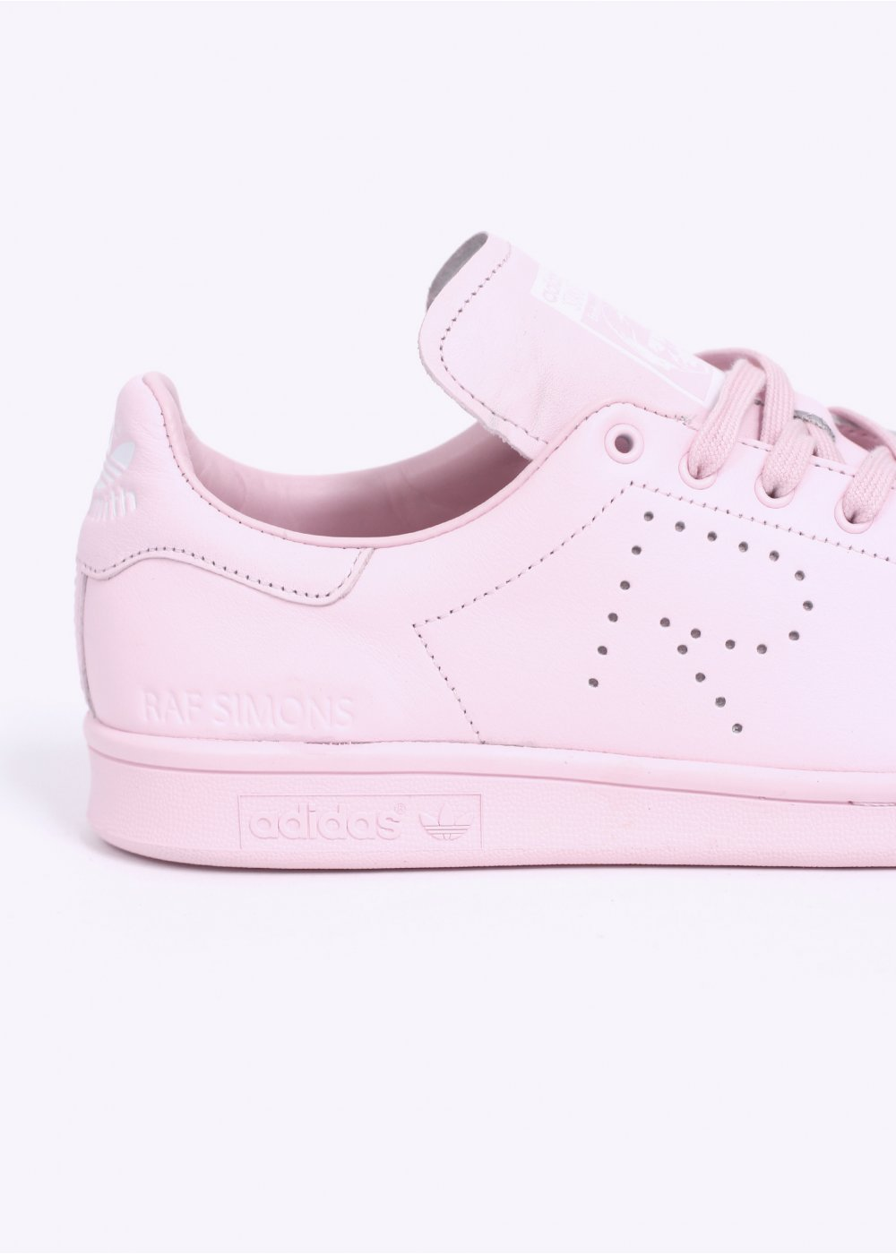 on sale 87e0a eae04 adidas Originals by Raf Simons STAN SMITH TRAINERS - PINK / WHITE