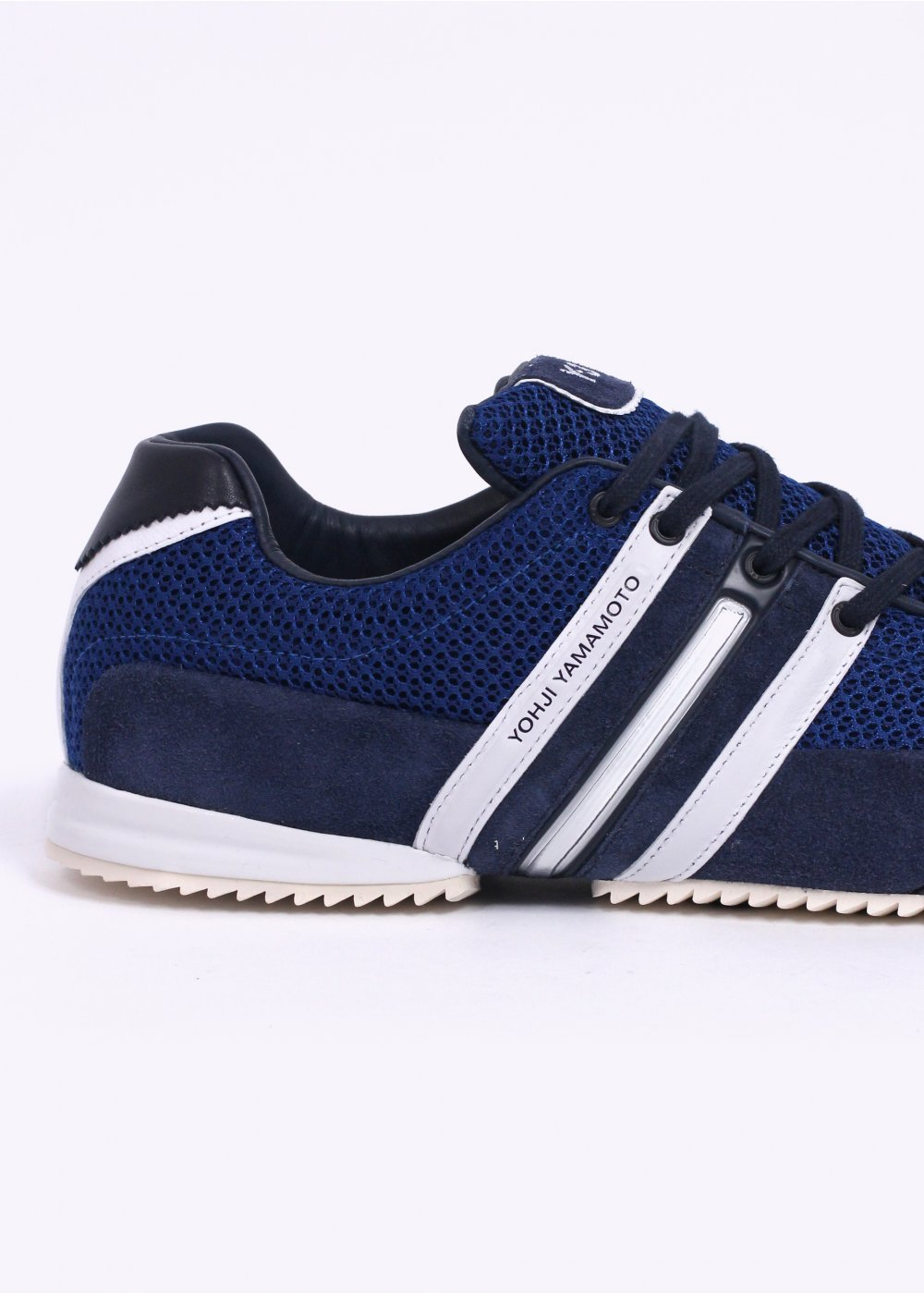 8bba211fef1 adidas Y-3 Sprint Trainers - Navy   Royal   White