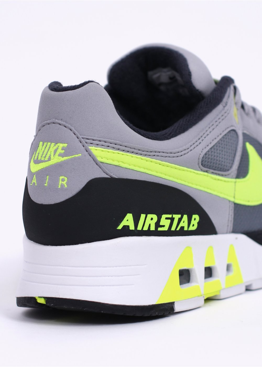 huge selection of 260f3 0b6eb Air Stab Trainers - Cool Grey   Volt   Wolf Grey