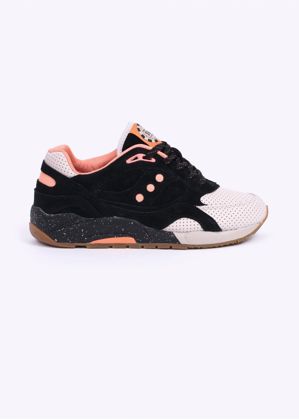 super cute 70a46 ccdc0 Saucony x Feature G9 Shadow 6000 'High Roller' - Black / Pink