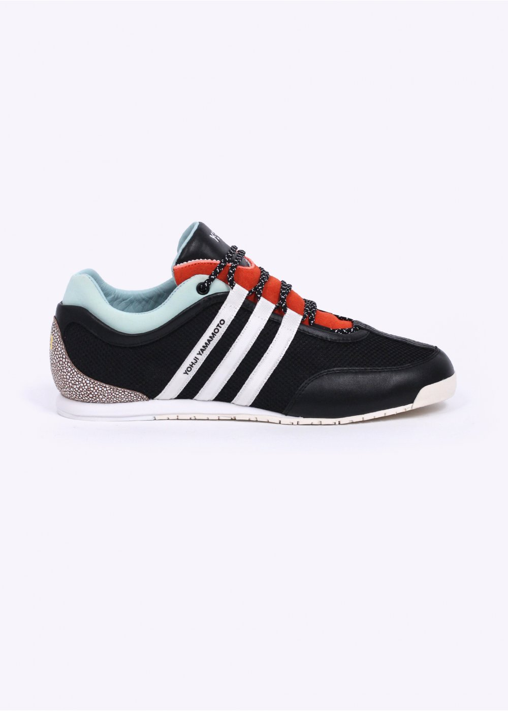 cbdb68dc5 adidas Y-3 Boxing Trainers - Black   Orange