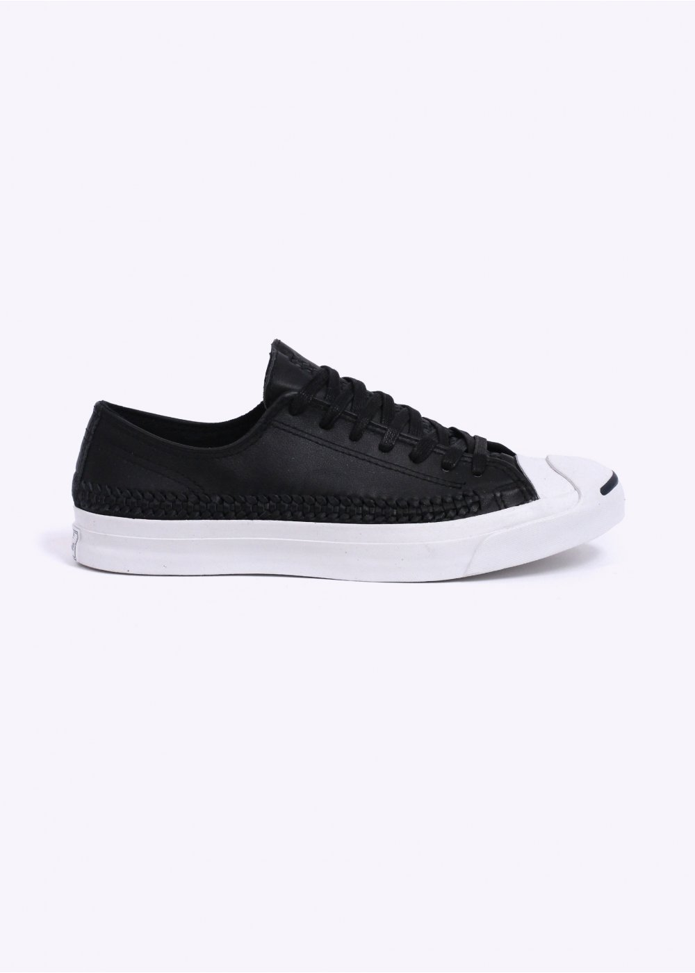 c7210c04a32b Converse Jack Purcell Woven Ox - Black   White