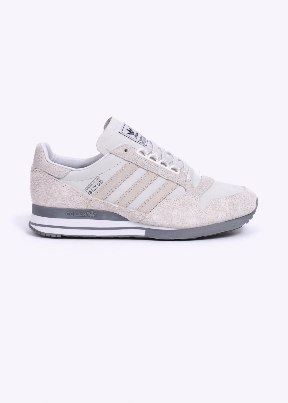4b026dd6f adidas Originals x NBHD ZX 500 OG Trainers - White   Grey