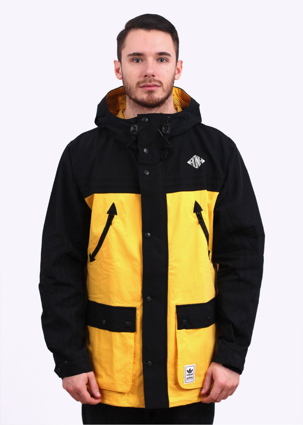 Adidas Originals X Neighborhood Mountain Pk Jacket Black Yellow
