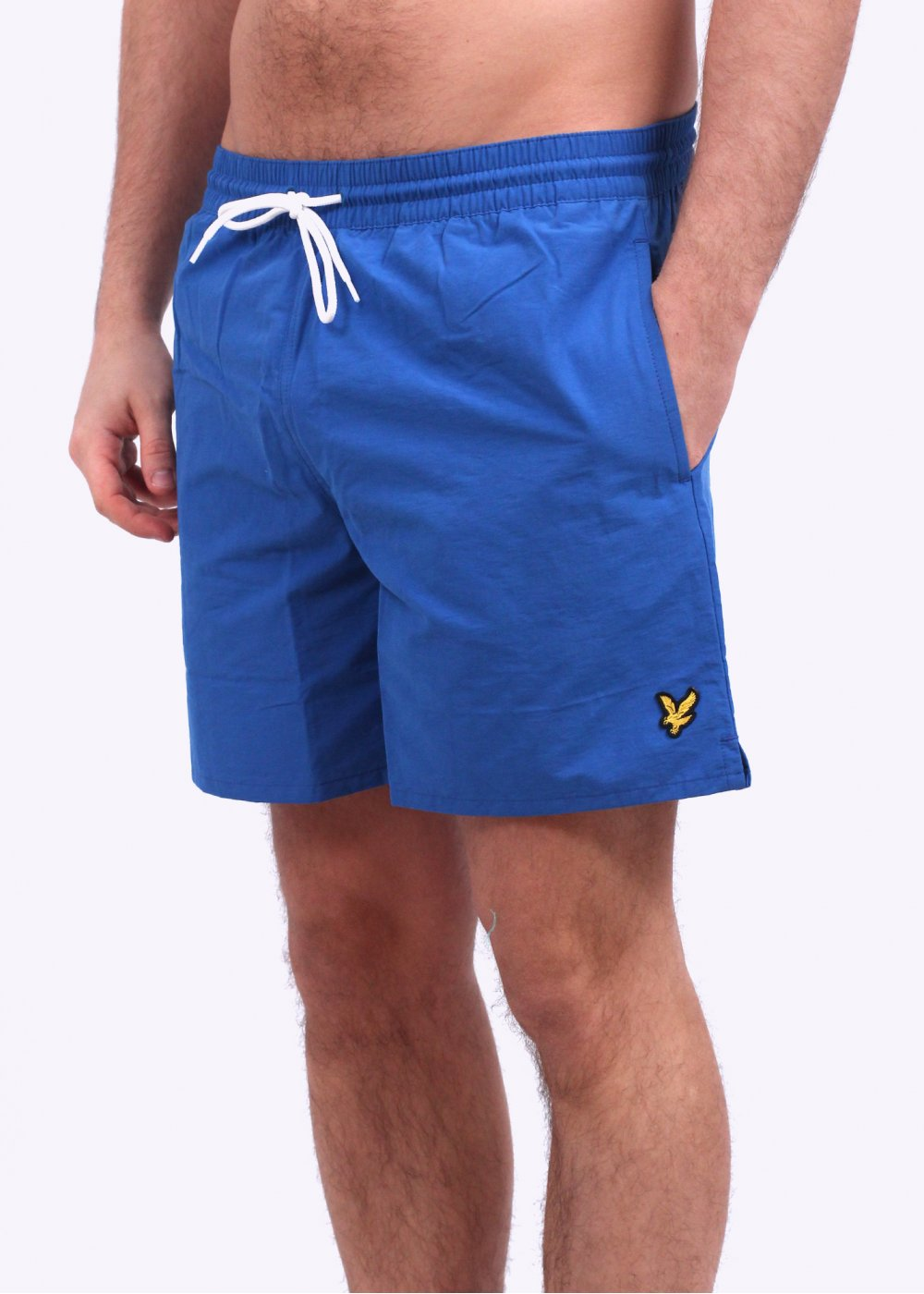 218cec257babe Lyle & Scott Plain Swim Shorts - French Navy