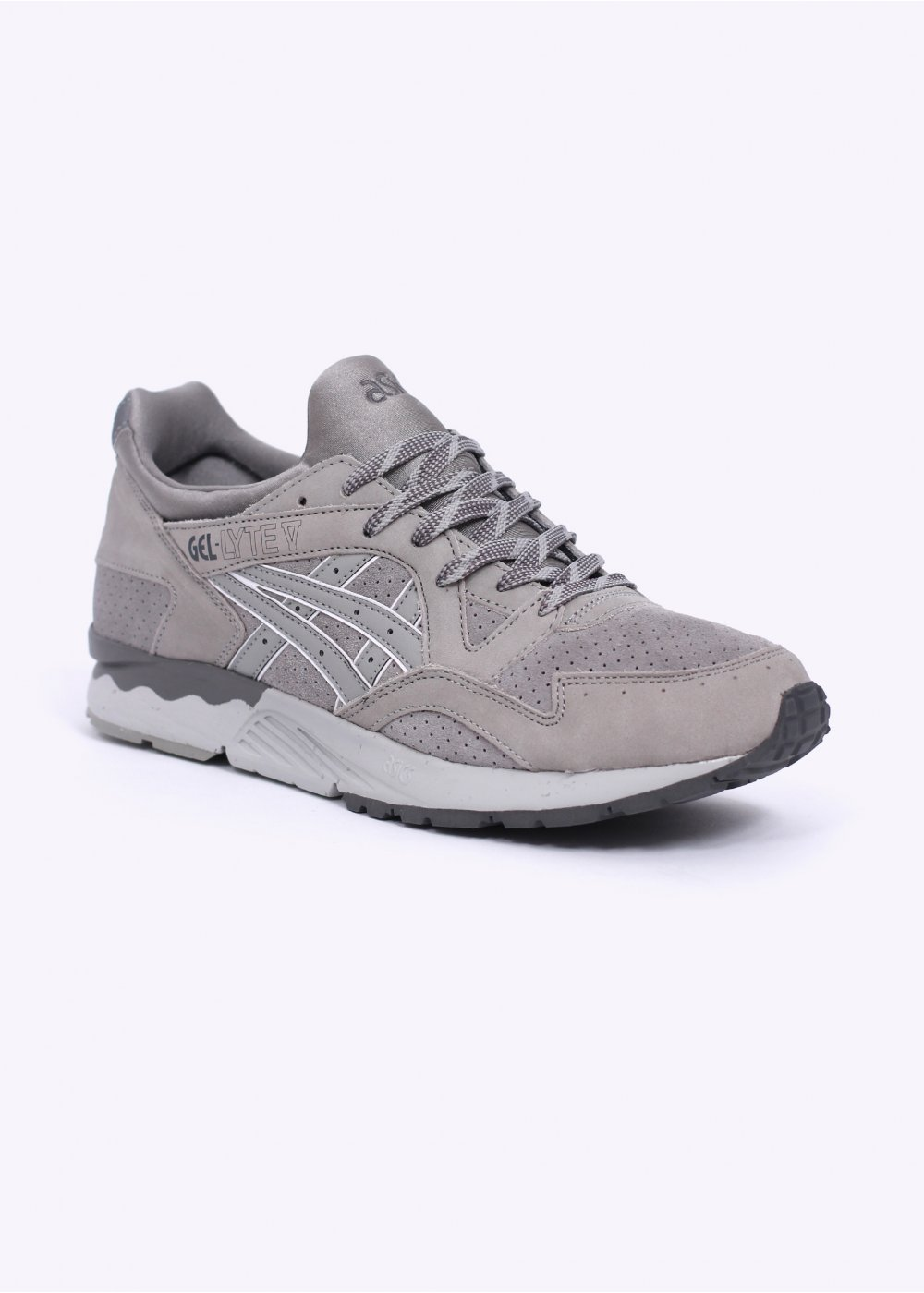asics suede trainers