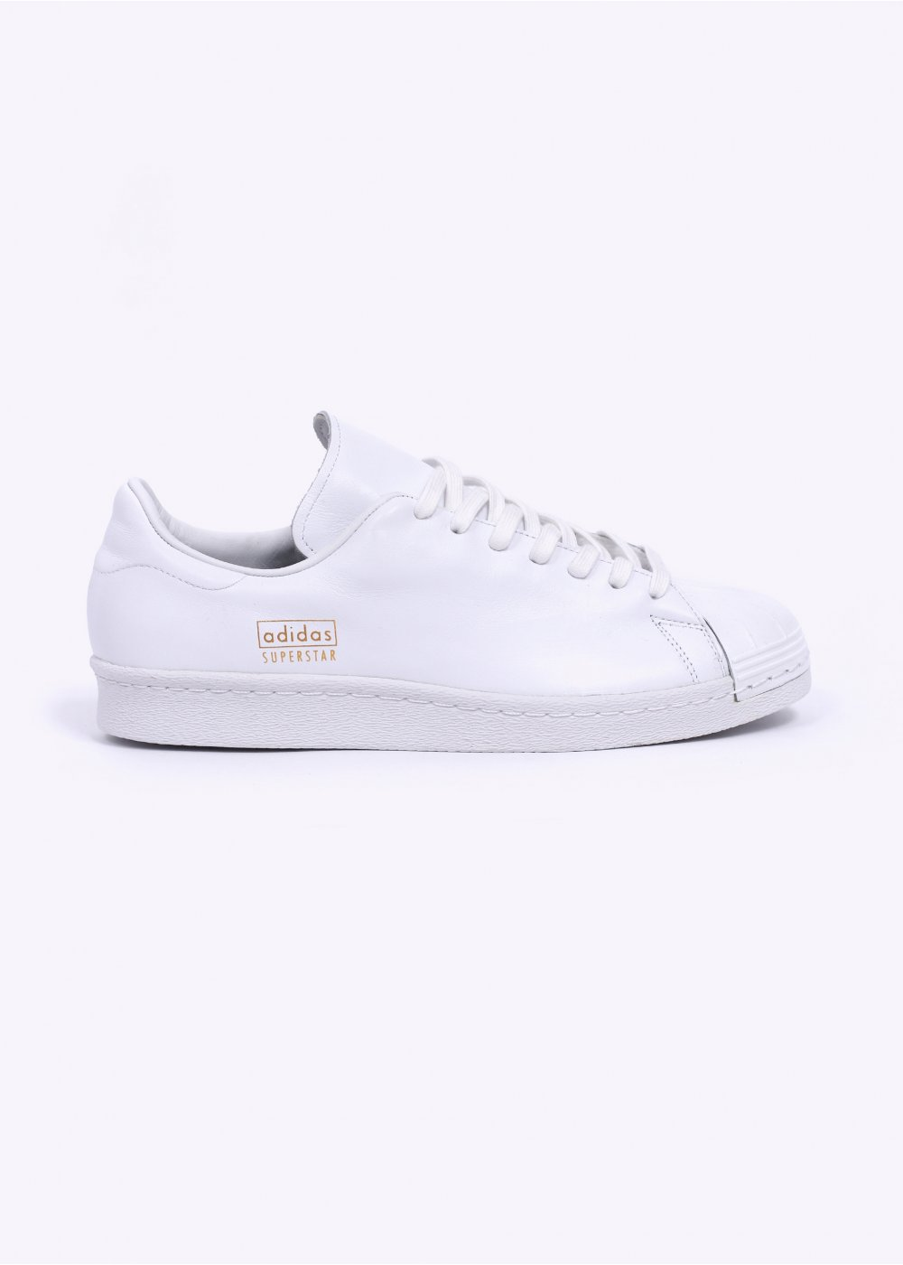 low priced 2841f f13ea Superstar 80  039 s Clean Trainers - White   Metallic Gold
