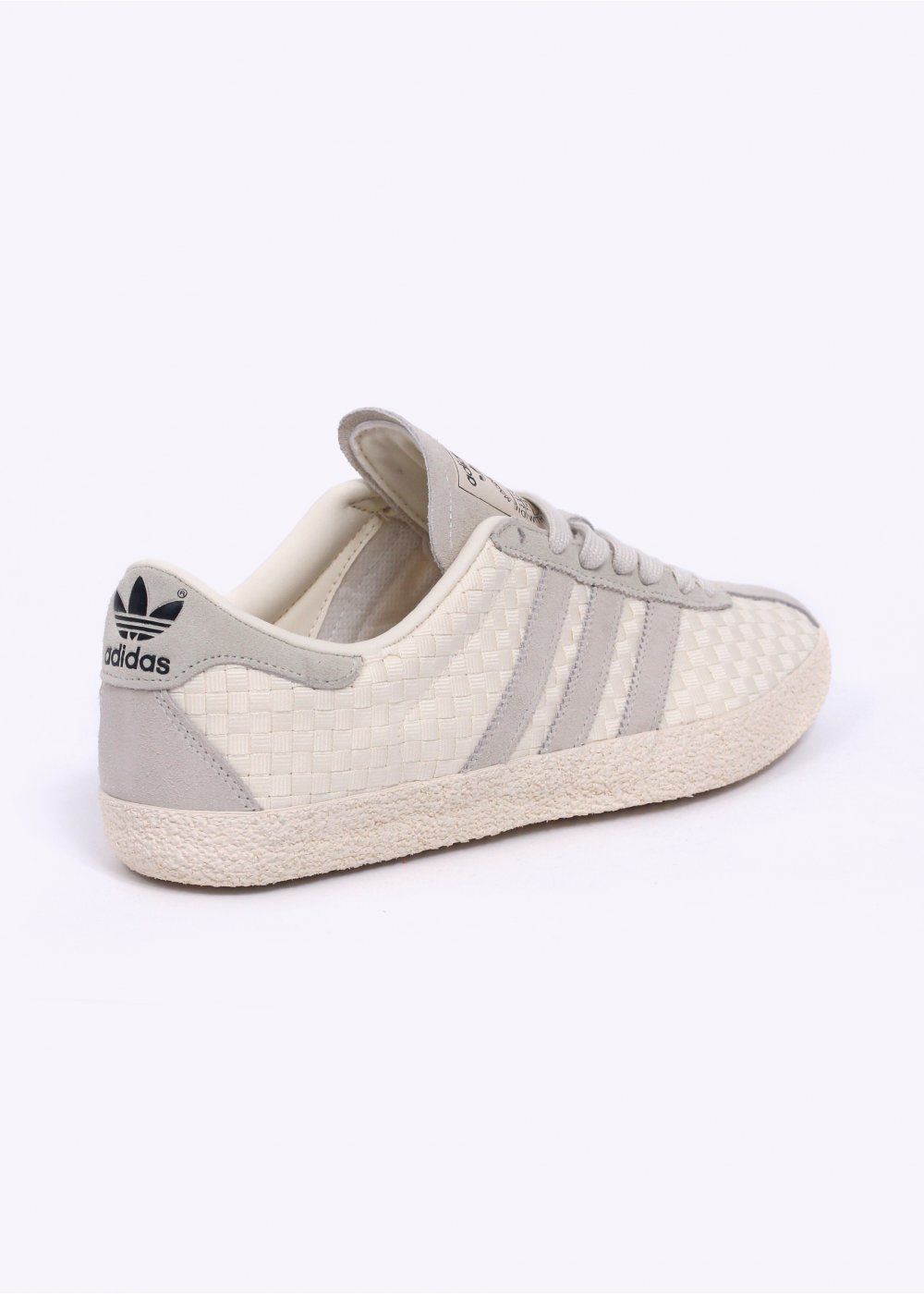 Adidas Originals Gazelle 70 S Sneaker UK 7.5 Crema Weave M19619