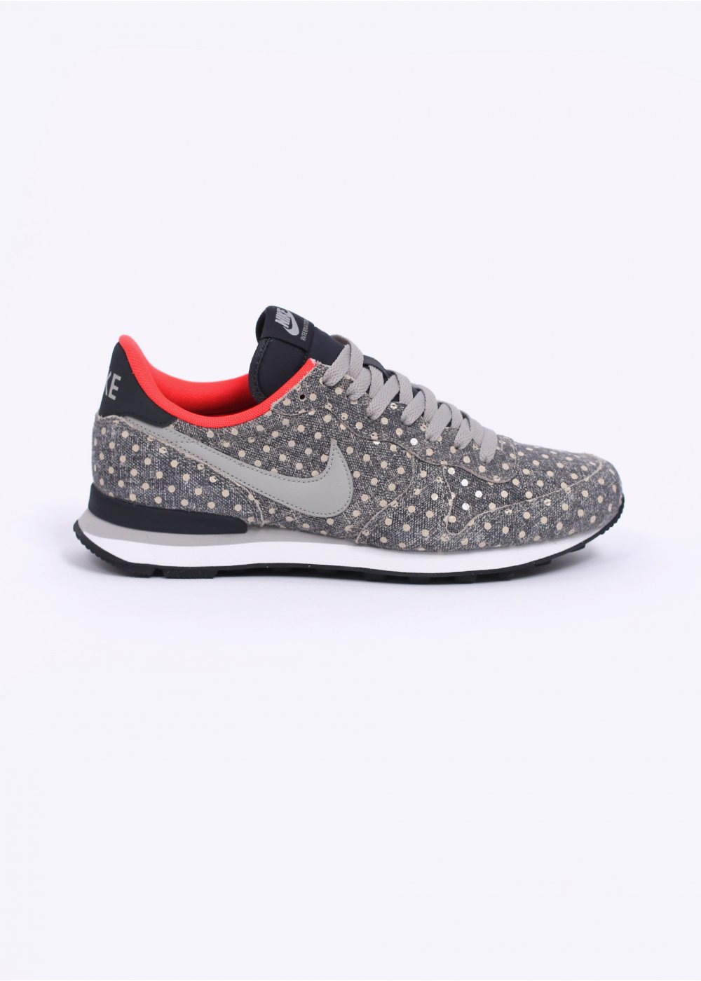 outlet store 4f14c 275ea ... shopping internationalist ltr 039polka dot039 trainers anthracite  granite 9863e 46898 get nike internationalist ...