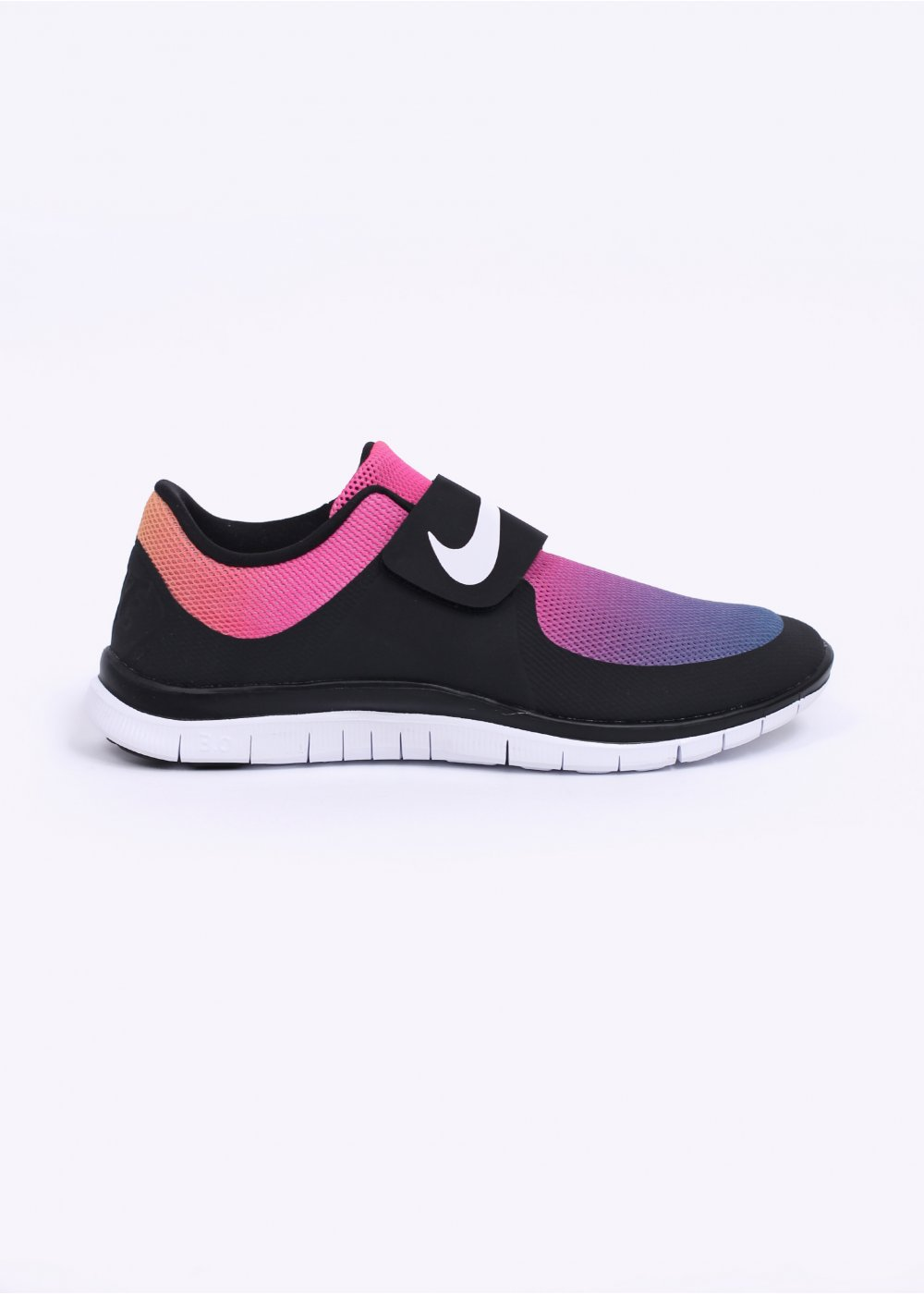 b95d2c667d8a Nike Free Socfly SD Trainers - Black   White   Pink Flash