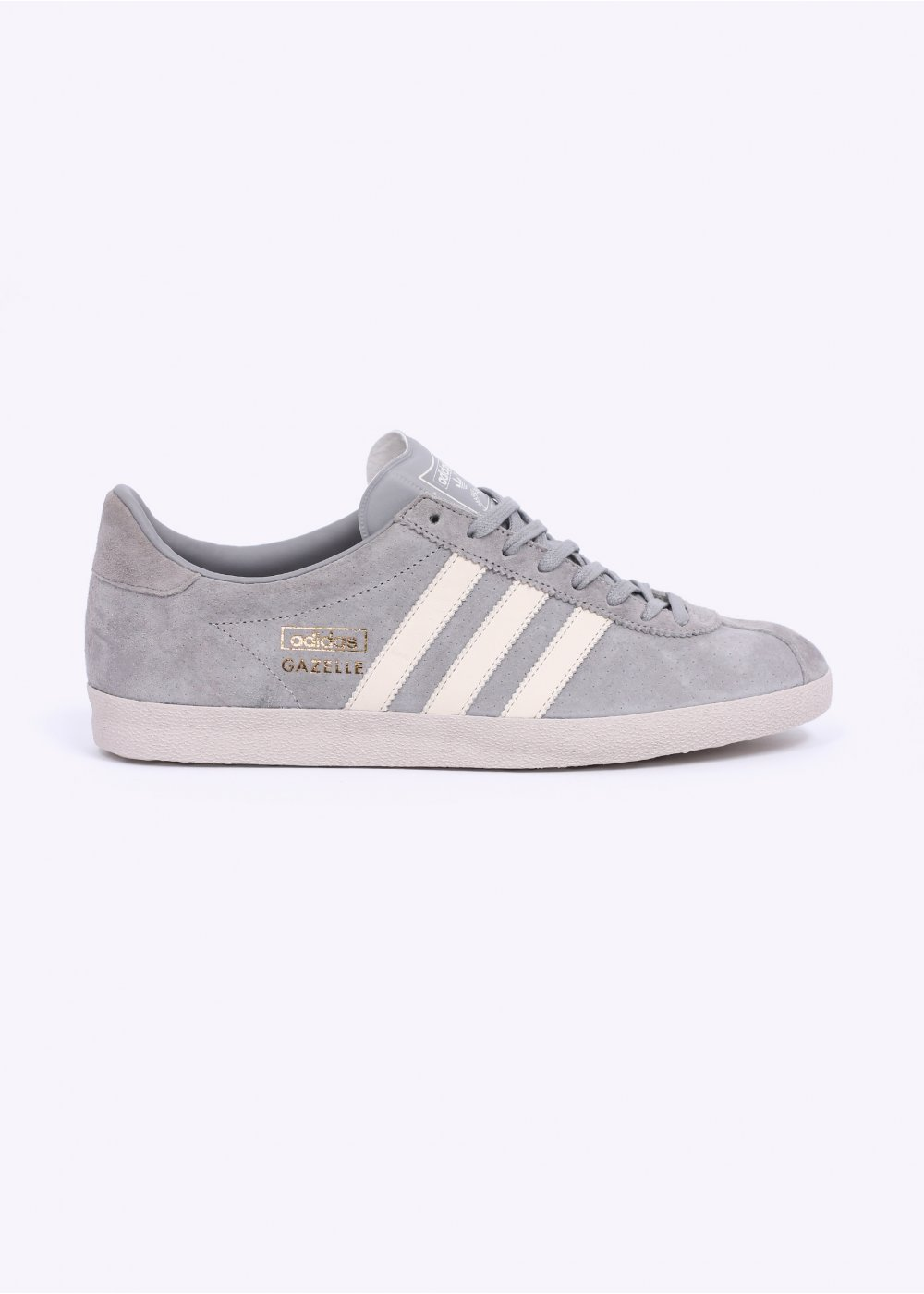 adidas Originals Footwear Gazelle OG Trainers Solid Grey White Pearl Grey