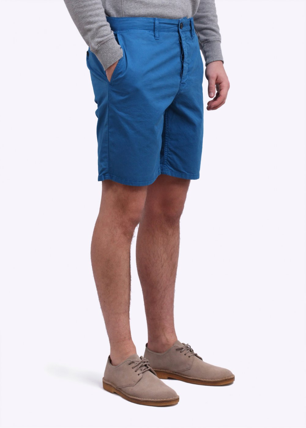 514d9f9bb35 Norse Projects Aros Light Twill Shorts - California Blue