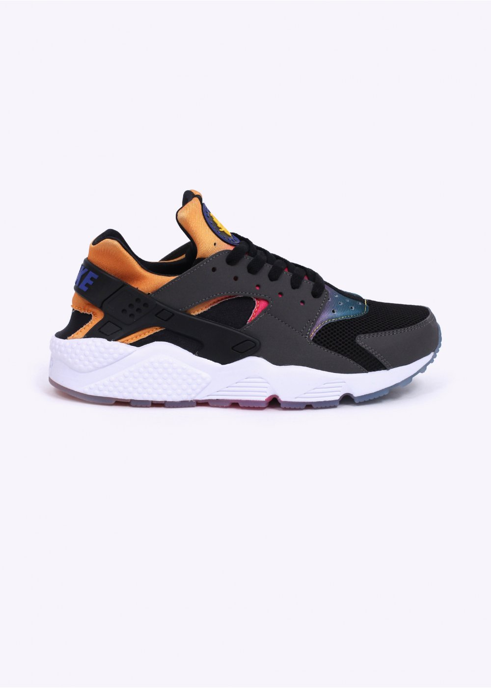size 40 6a4a8 34141 Nike Footwear Air Huarache Run 'Sunset Rainbow' SD Trainers - Black / Volt  / Tour Yellow / Pink