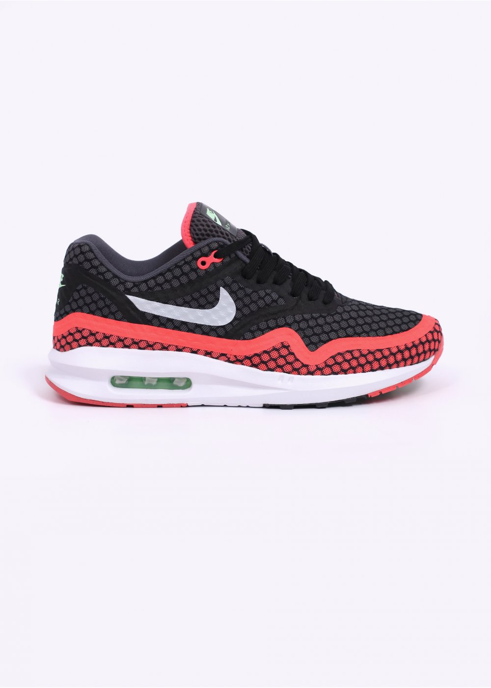 pretty nice 704a9 3b880 Air Max Lunar 1 BR Trainers - Black   Pure Platinum   Hot Lava