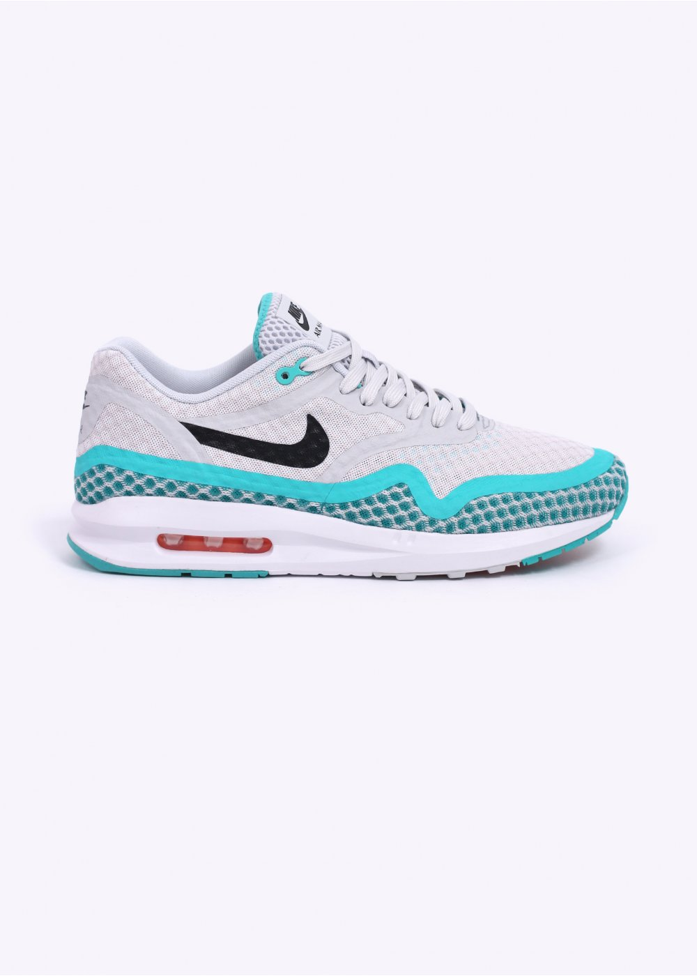 prometedor Si Parcial  Nike Air Max Lunar 1 BR Trainers - Pure Platinum / Blue