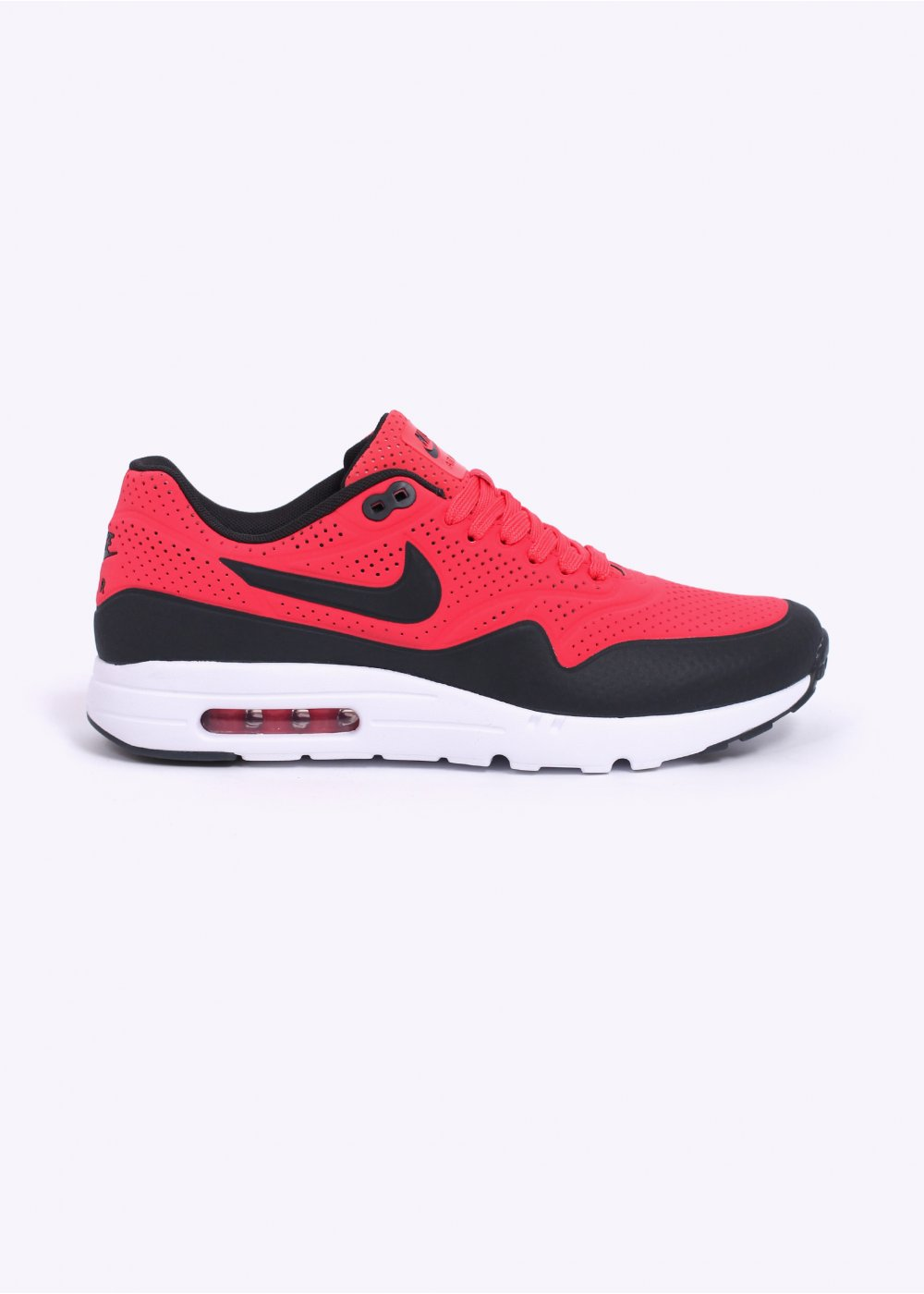 cc1b9899cffc Nike Air Max 1 Ultra Moire Trainers - Rio Red   Anthracite