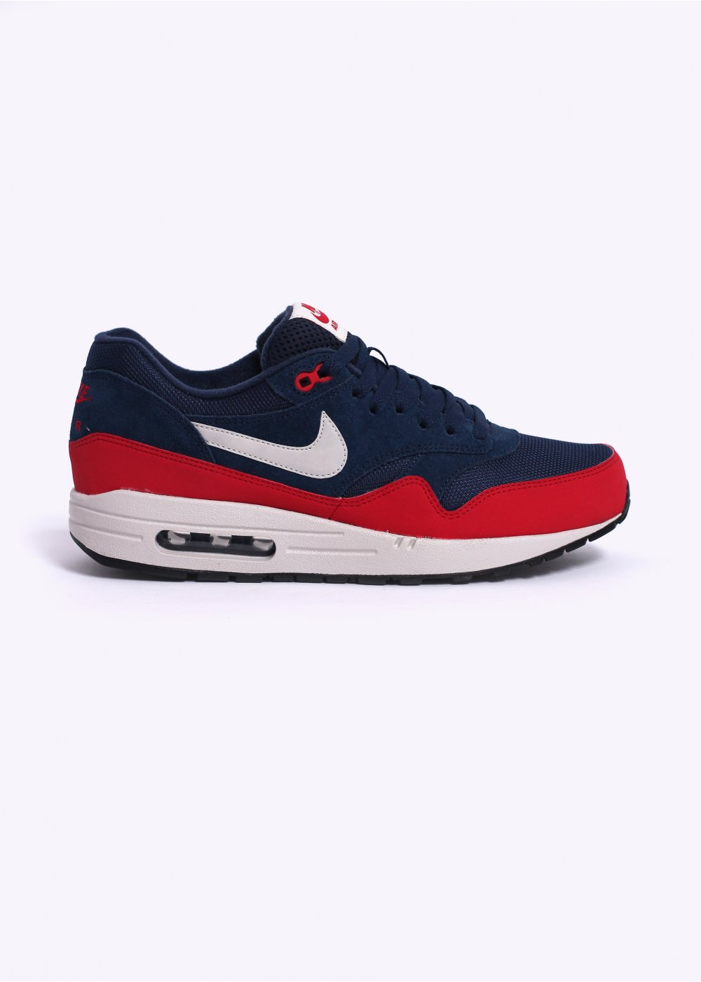 nike air max 1 essential trainers navy