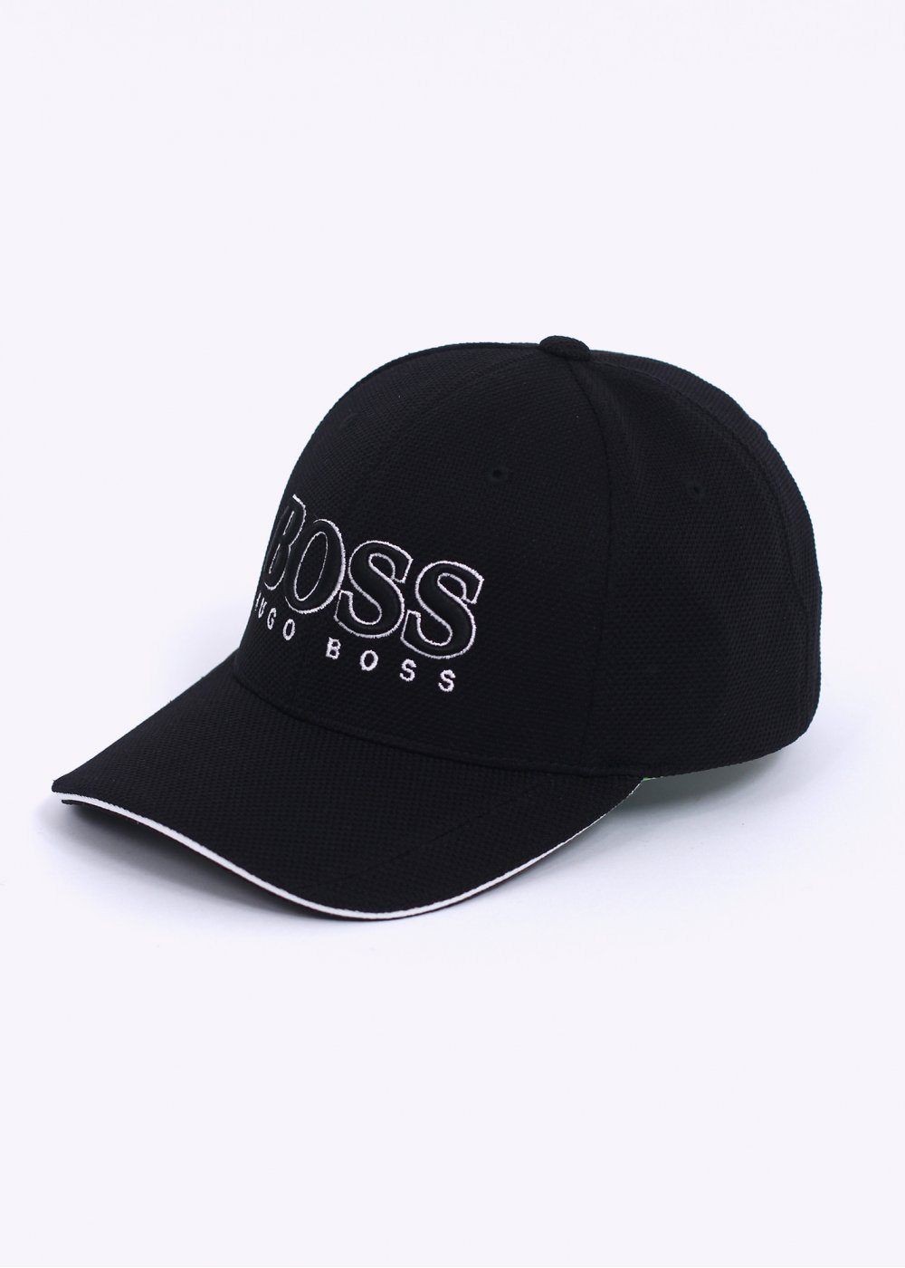 Hugo Boss   Boss Green - Embroidered Logo Cap - Black 134fe6ed116