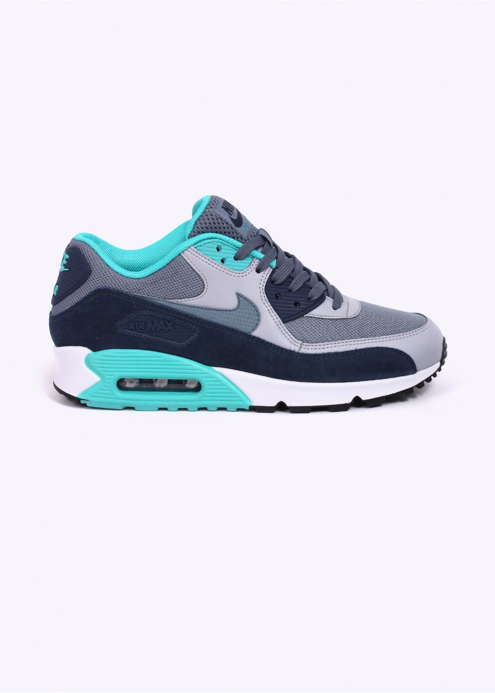 Nike Footwear Air Max 90 Essential Trainers Blue Graphite