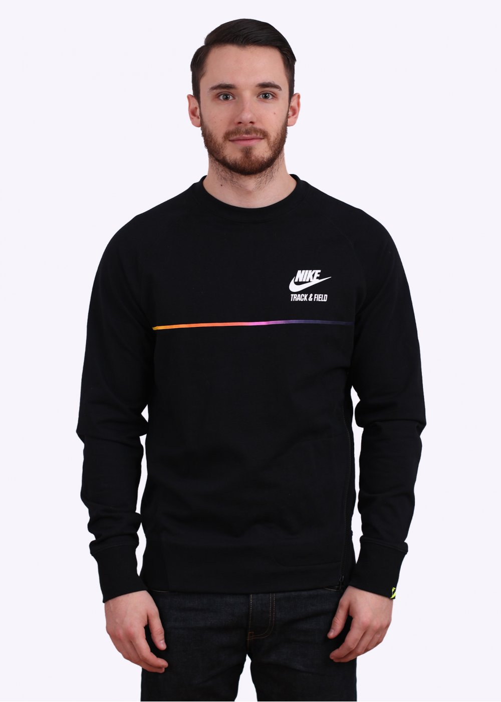 Nike Apparel RU NTF Crew Sweatshirt Black