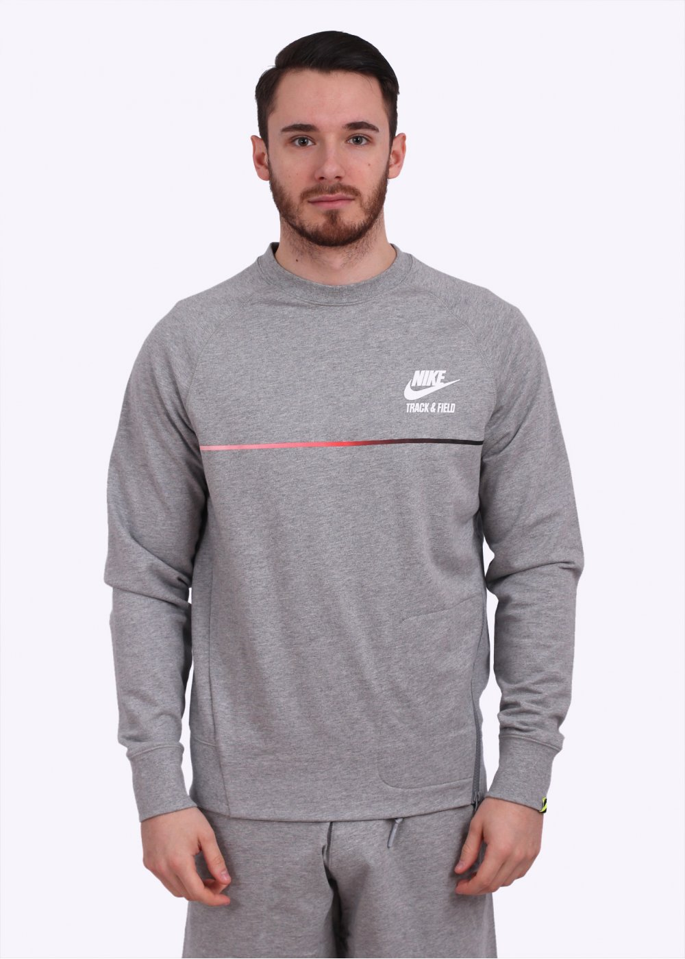 Nike Apparel RU NTF Crew Sweatshirt Dark Grey