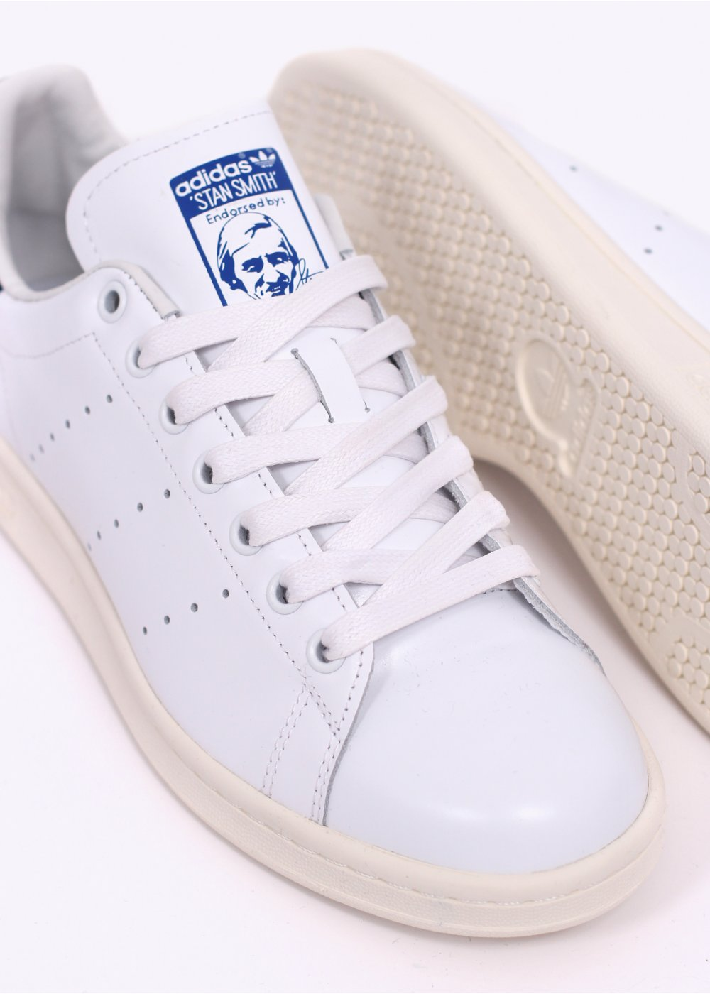 timeless design d8547 aa0be adidas Originals Footwear Stan Smith Trainers - White / Navy