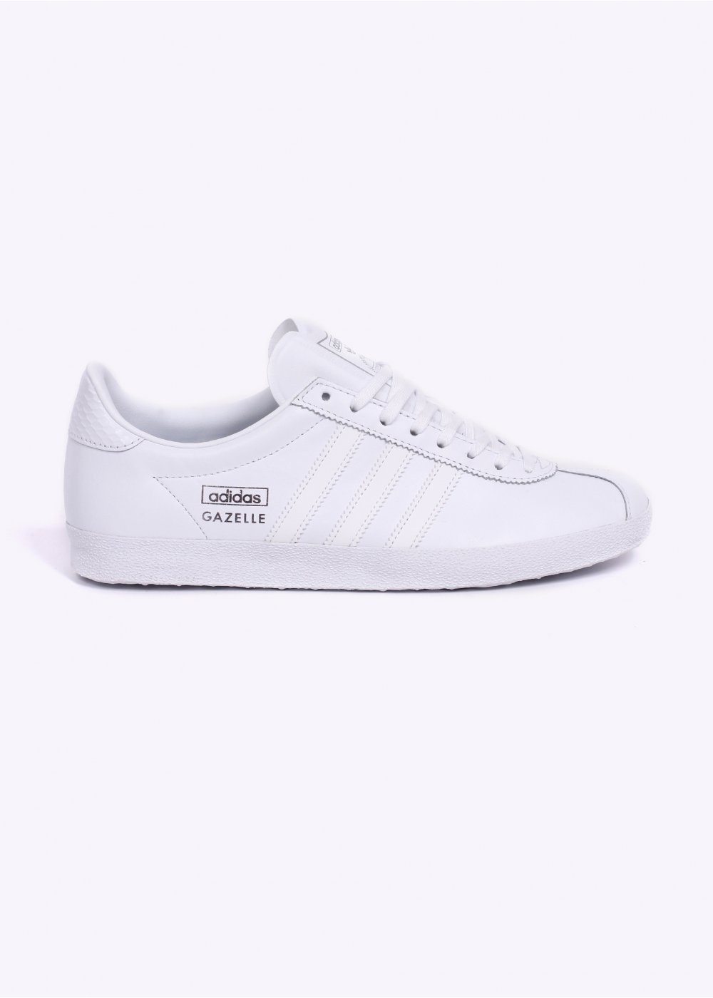 the best attitude 922fd 489c9 Gazelle OG Leather Trainers - White