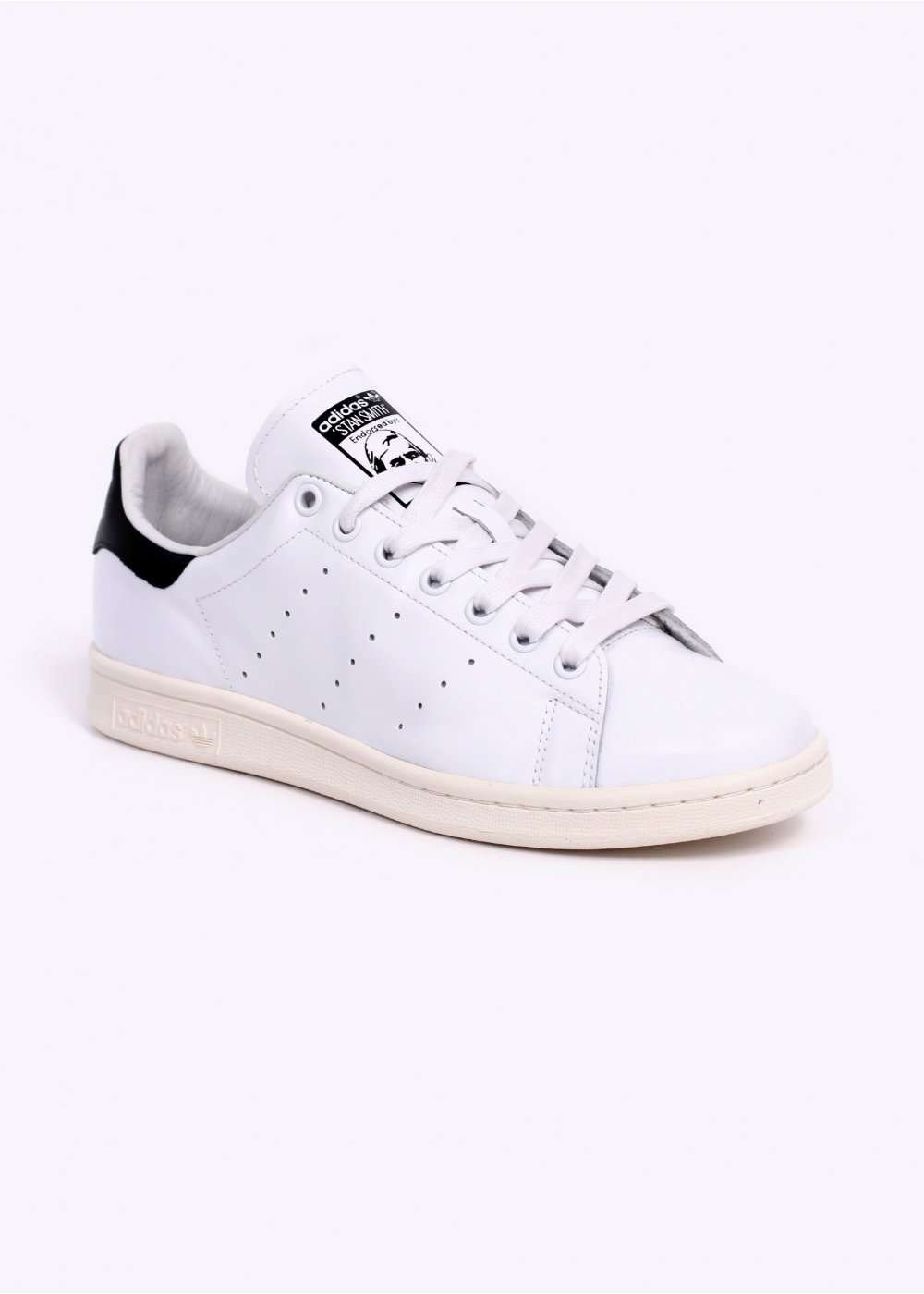 85076c1df1f Buy black stan smith trainers   OFF65% Discounted
