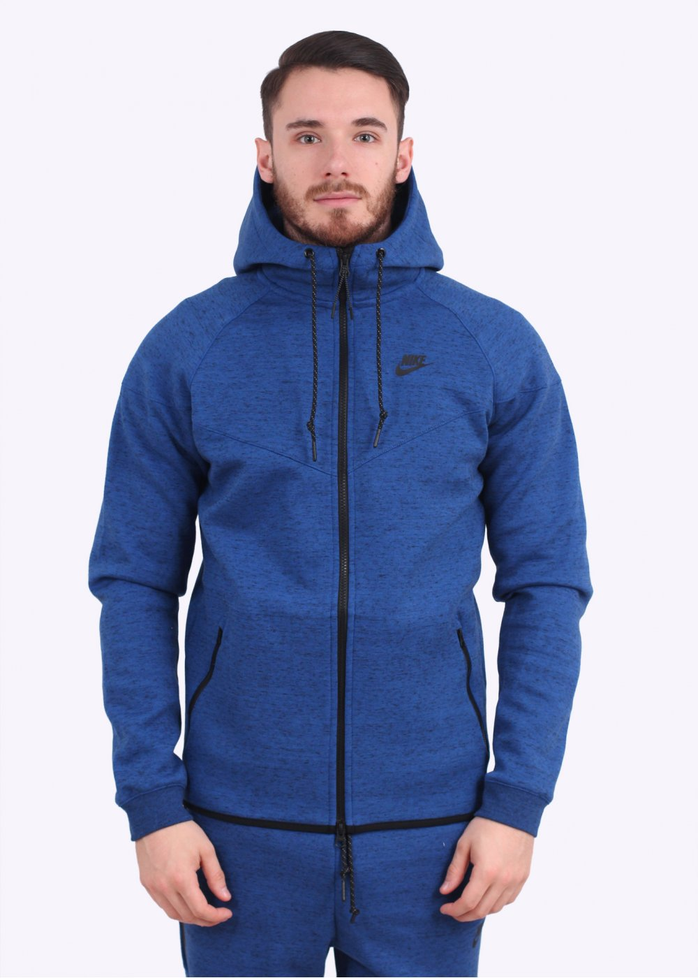 Nike Apparel Tech Fleece Windrunner , Game Royal Blue