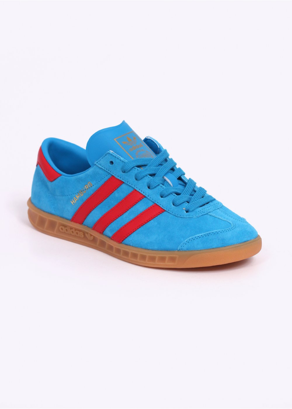 buy popular 9f10e af380 Hamburg Trainers - Blue  Red