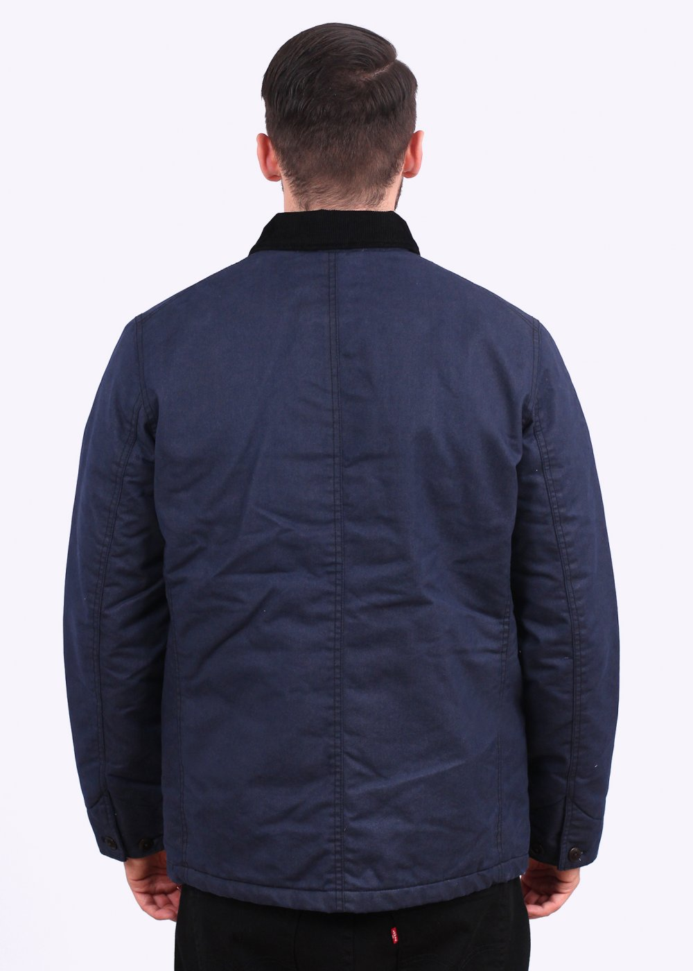 4bac61c7d72e1 Levi s Engineers Coat Nightwatch - Blue