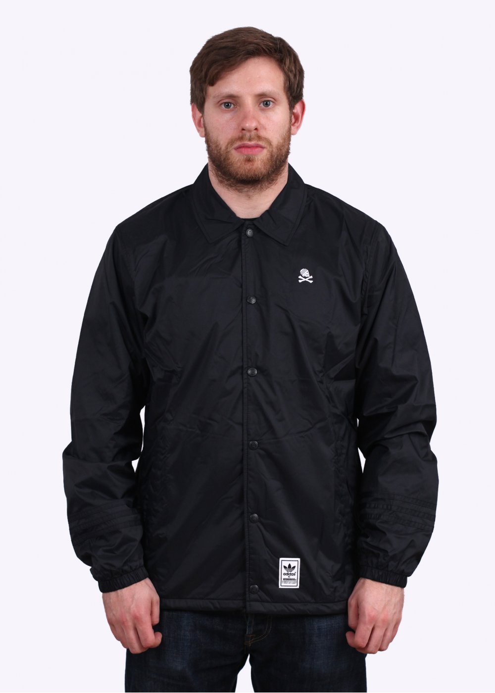 adidas Originals Apparel x Neighborhood Coach Jacket Black