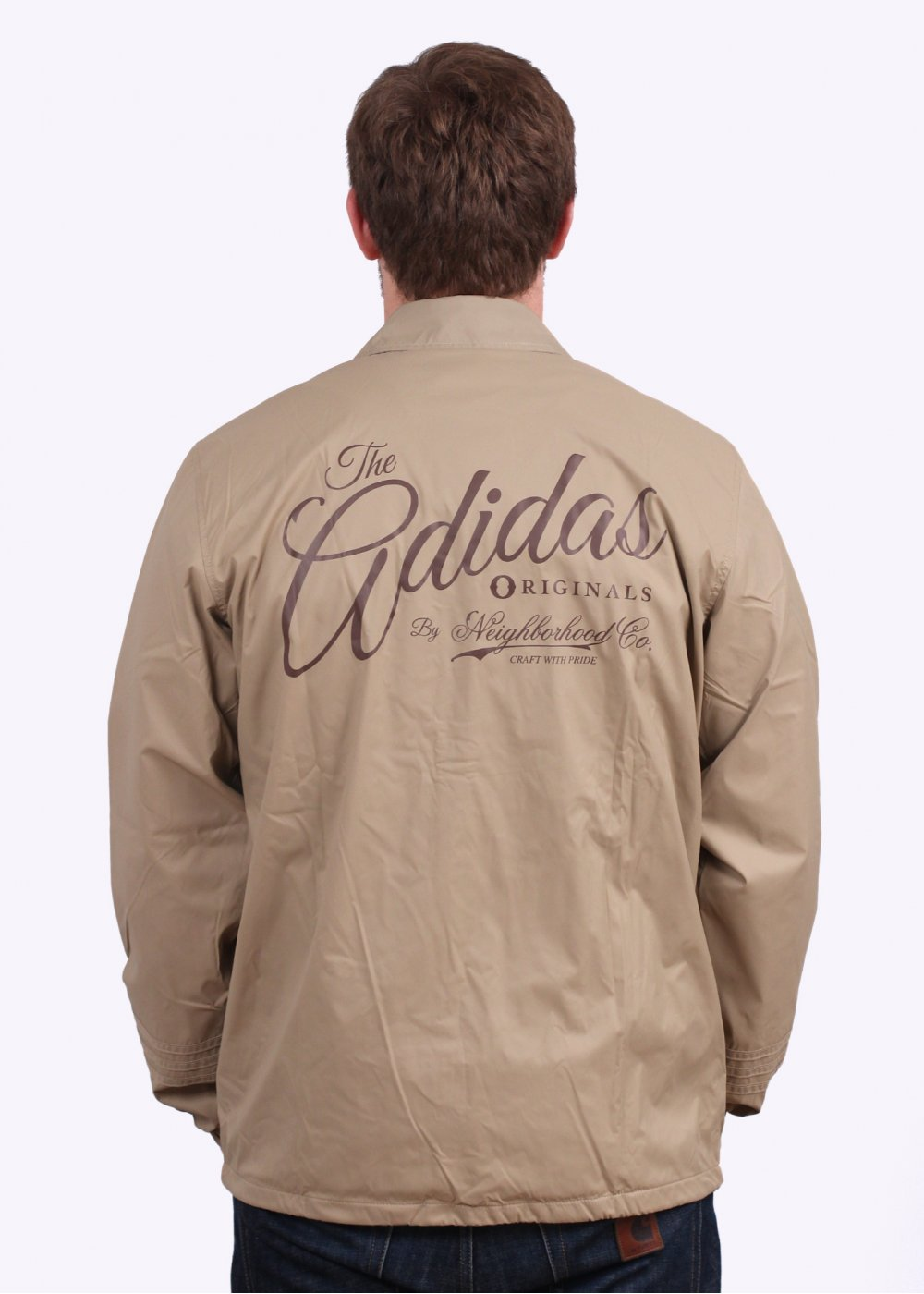 adidas Originals Apparel x Neighborhood Coach Jacket Hemp