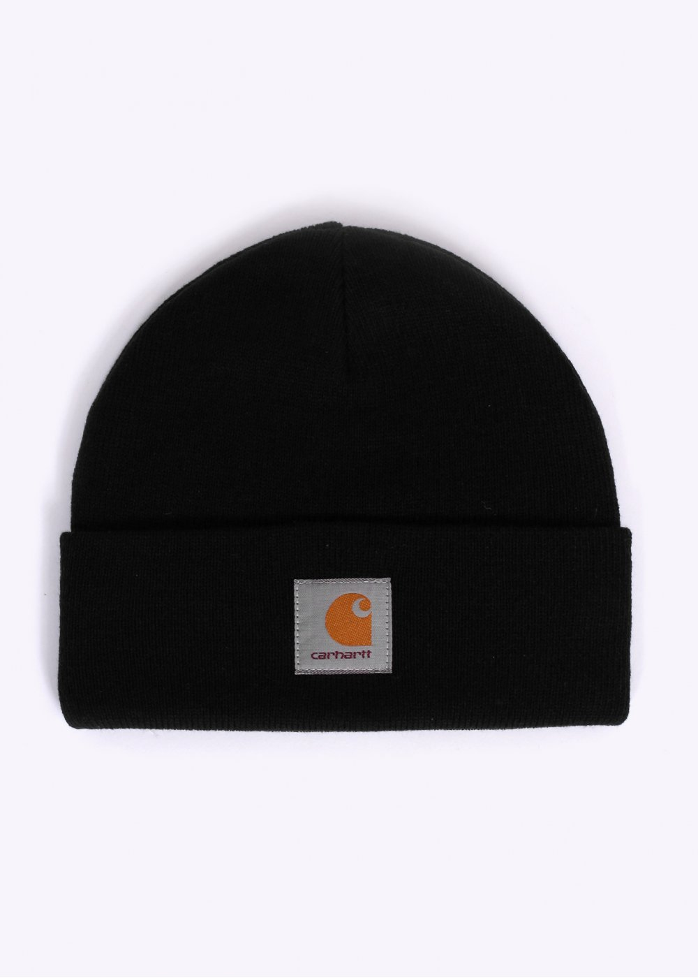 Carhartt Short Watch Beanie Hat - Black 56a09b8c4683
