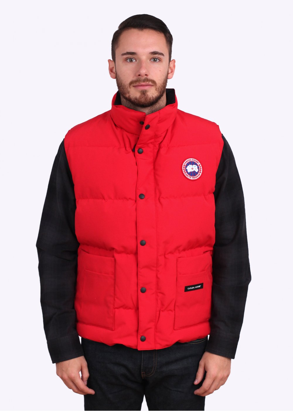 canada goose red body warmer