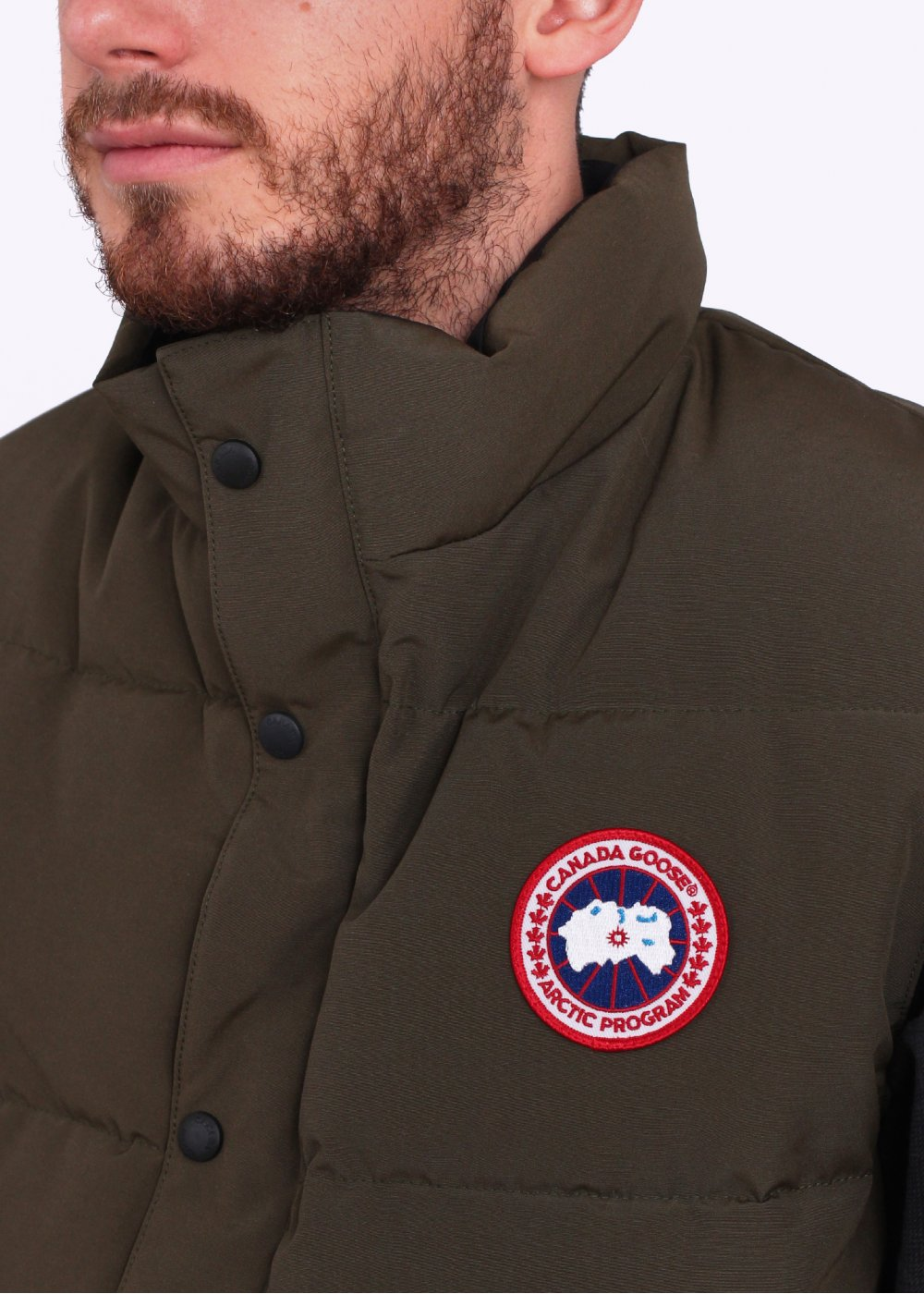 canada goose black label military green