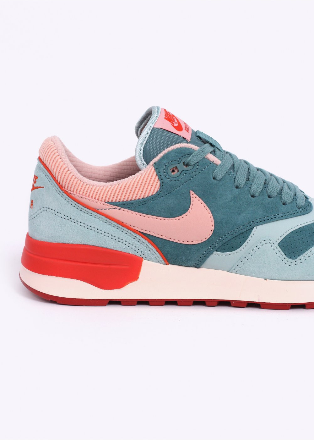 Nike Air Odyssey LTR Trainers - Green Haze   Arctic Orange d741e8c5b