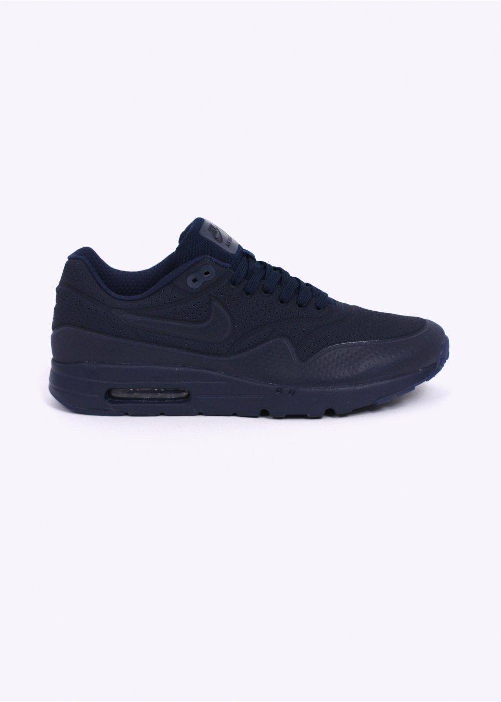 lowest price c98e7 05ba3 Air Max 1 Ultra Moire Trainers - Midnight Navy   Black