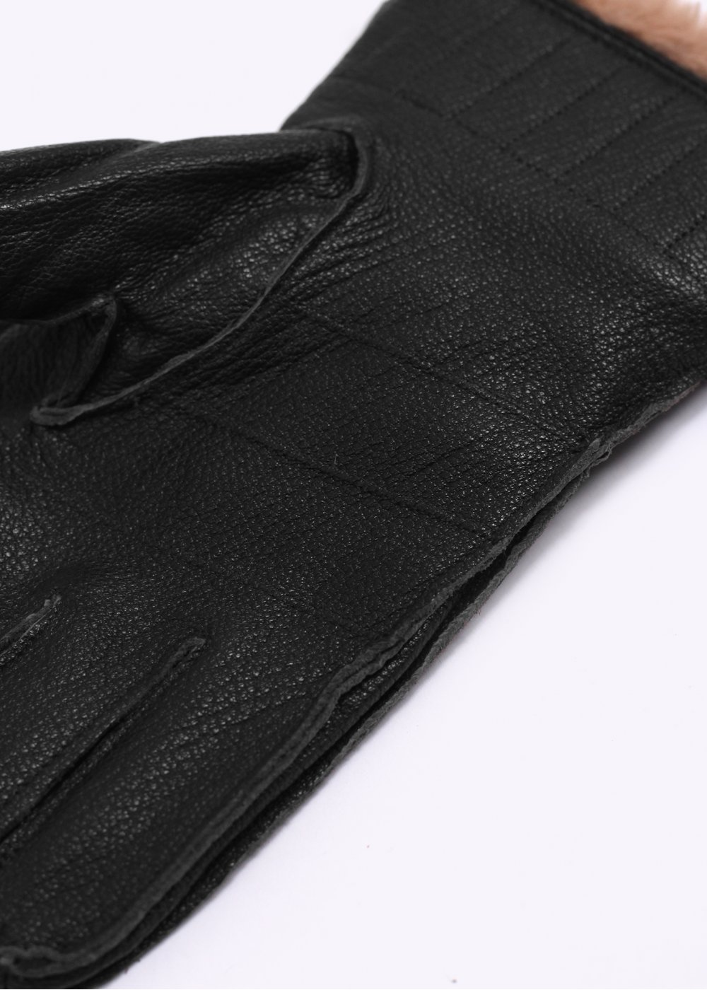 Barbour black leather utility gloves - Barbour Leather Utility Gloves Black